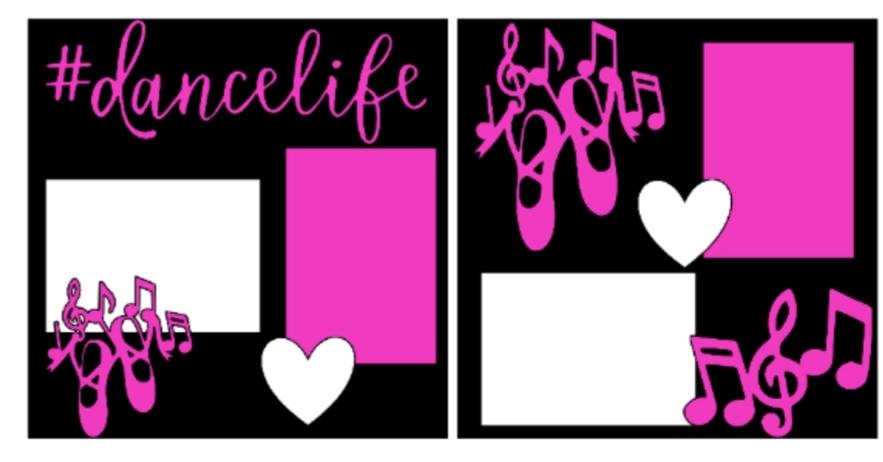 Dancelife--  page kit