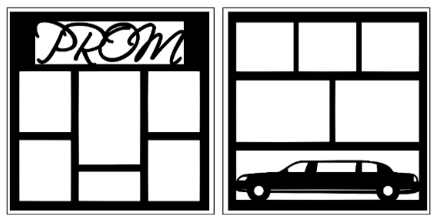 Prom/limo 2 page overlay--  page kit