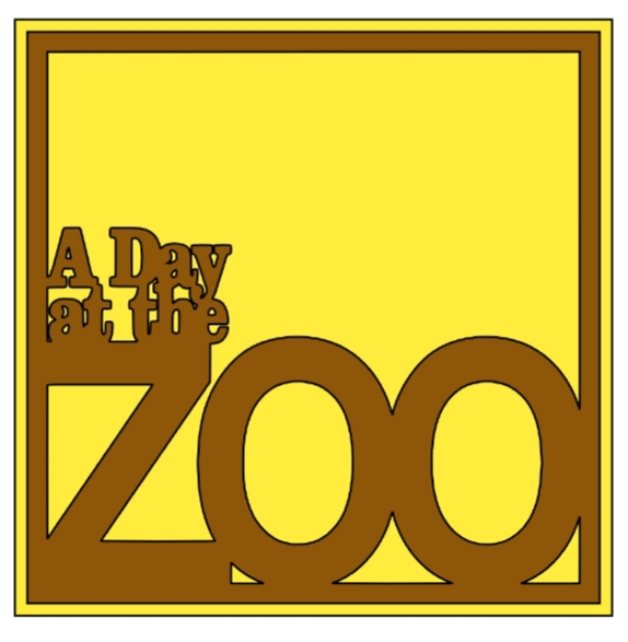 At the zoo 1 page overlay