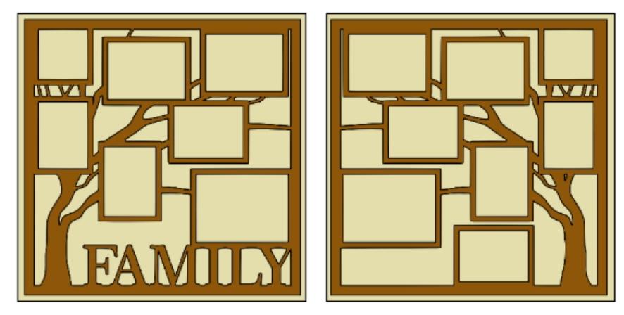 Family Tree overlay  page kit