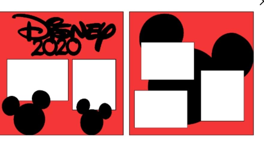 Disney 2020 - mickey page kit