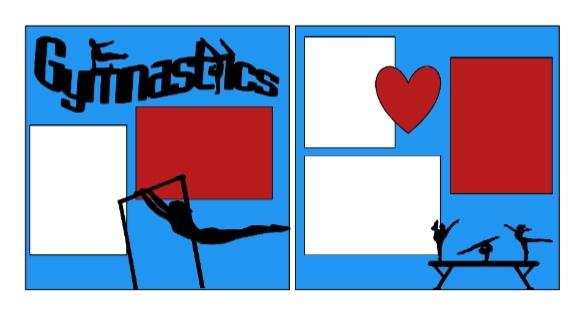 Gymnastics+  page kit