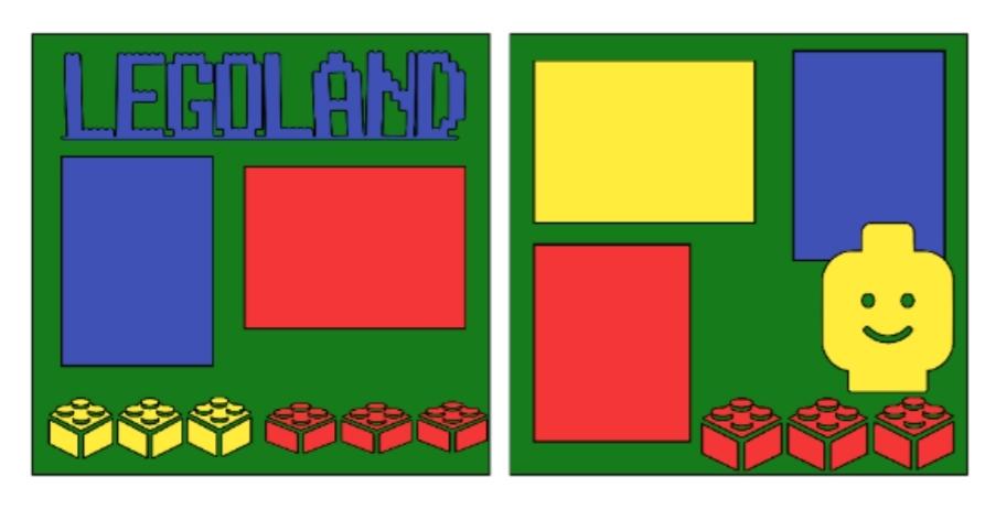Legos (Legoland)--  page kit