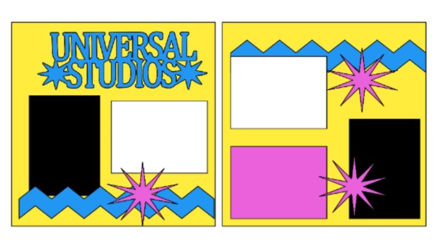Universal Studios **--  page kit
