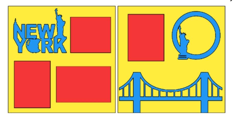 New York Bridge-  page kit