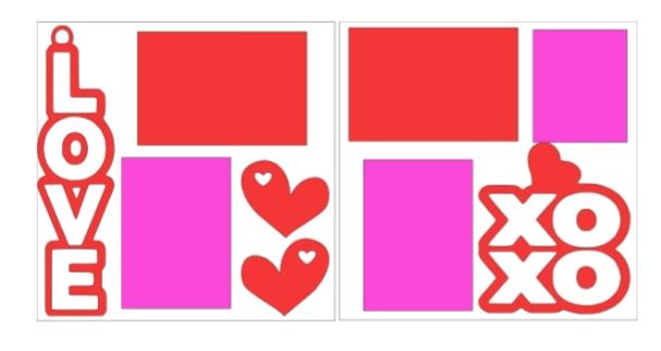 Love XOXO--  page kit