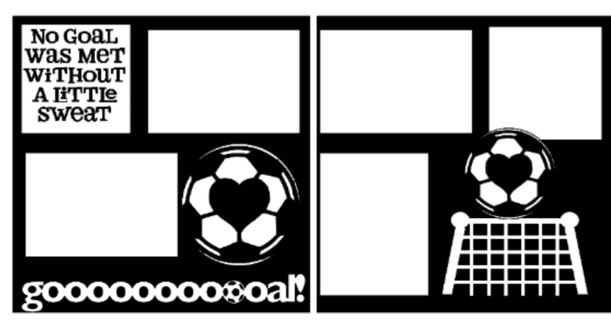 Soccer Goals-  page kit