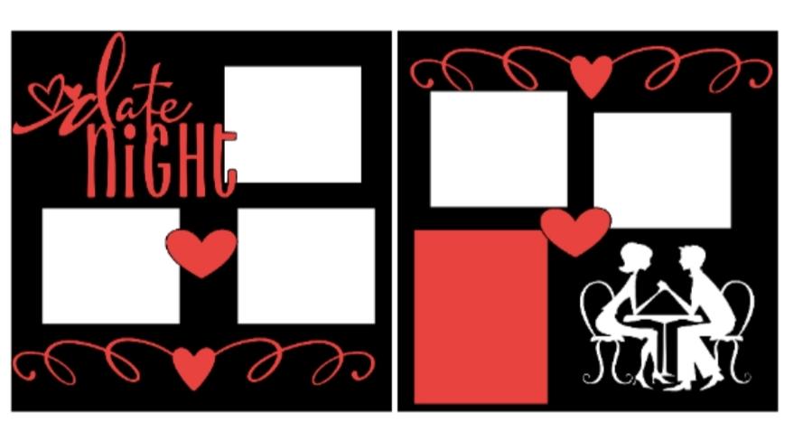 Date Night--  page kit