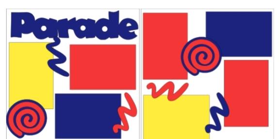 Parade-  page kit