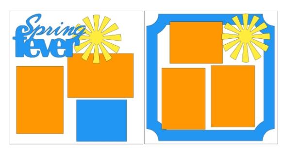 Spring Fever--  page kit