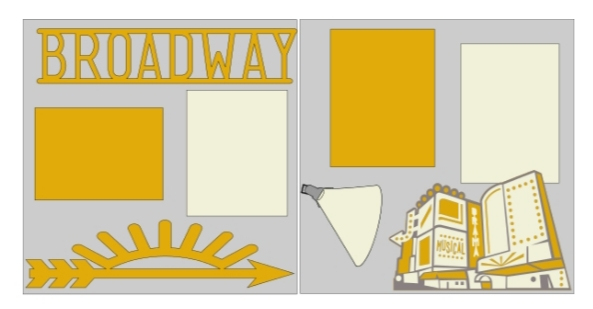 Broadway NYC-  page kit