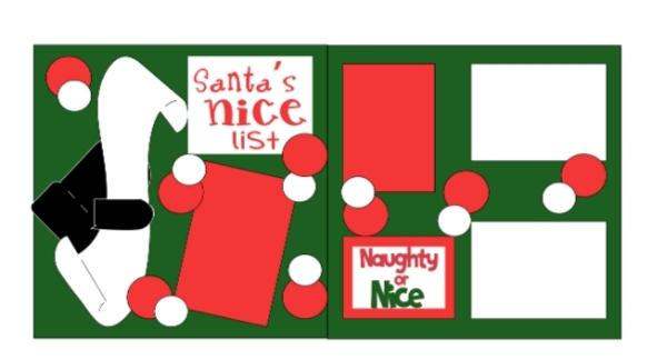 Santa's List - page kit