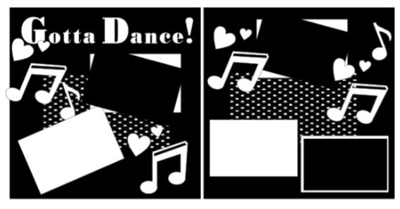 Gotta Dance Page Kit