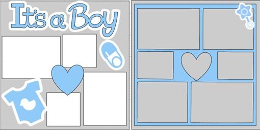 IT'S A BOY 2021   -  page kit