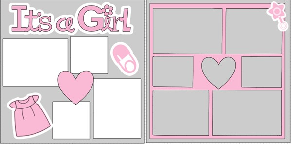 IT'S A GIRL 2021   -  page kit