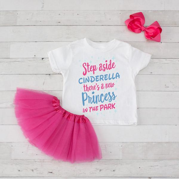 Step Aside Cinderella there's a new princess in the park tutu