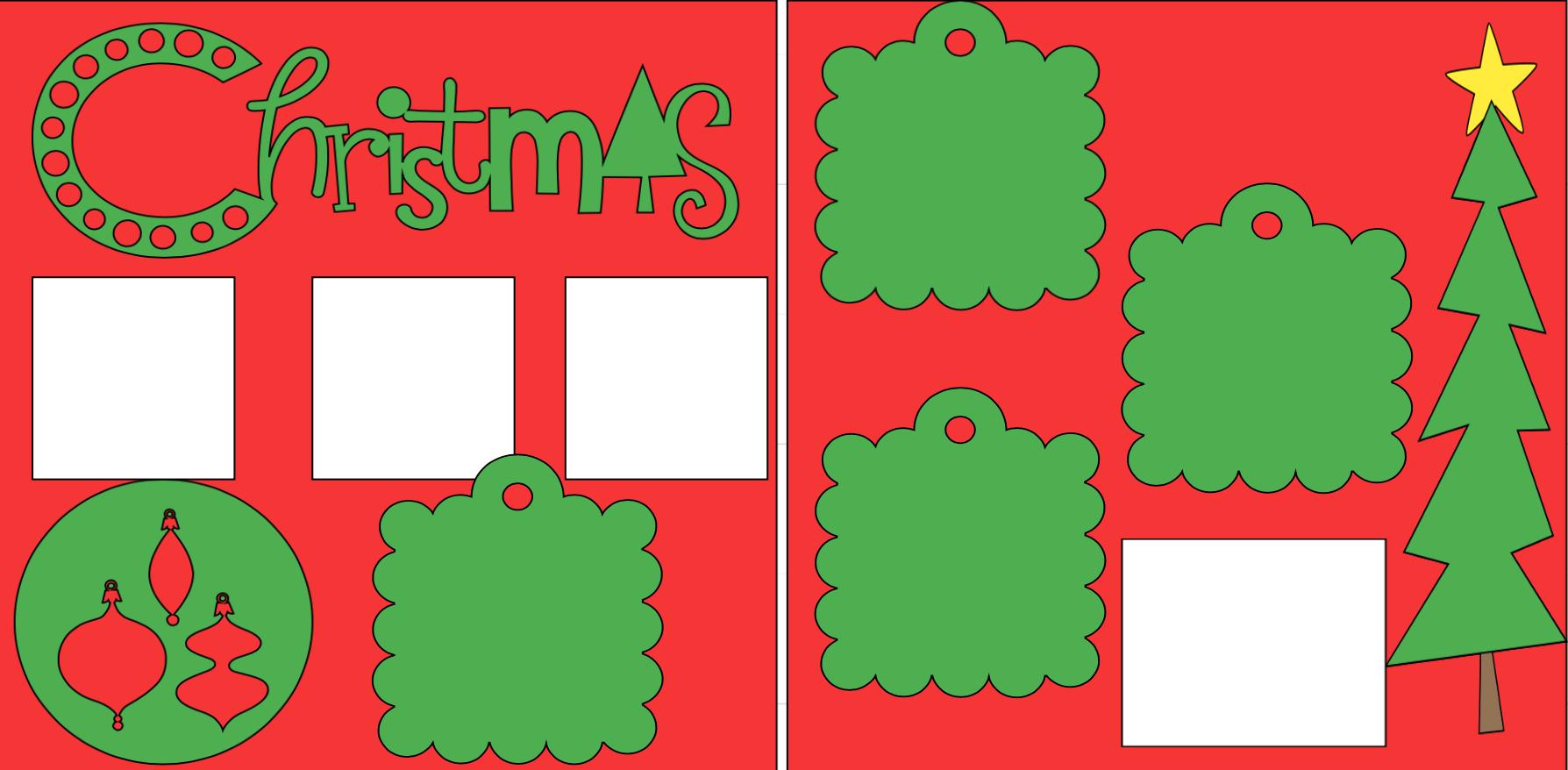 Christmas-  page kit