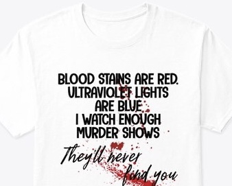 Blood stains are red Tee