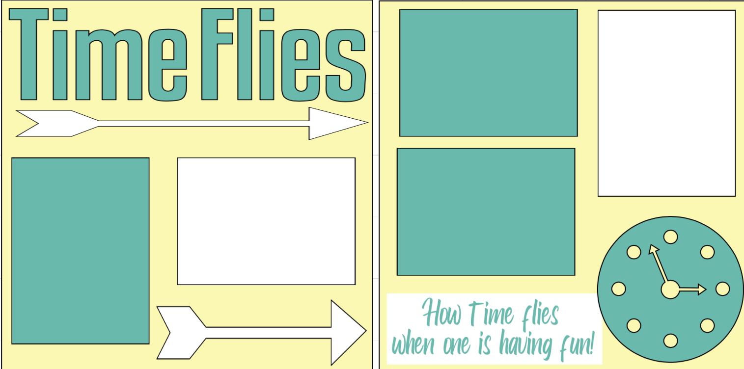 Time Flies page kit