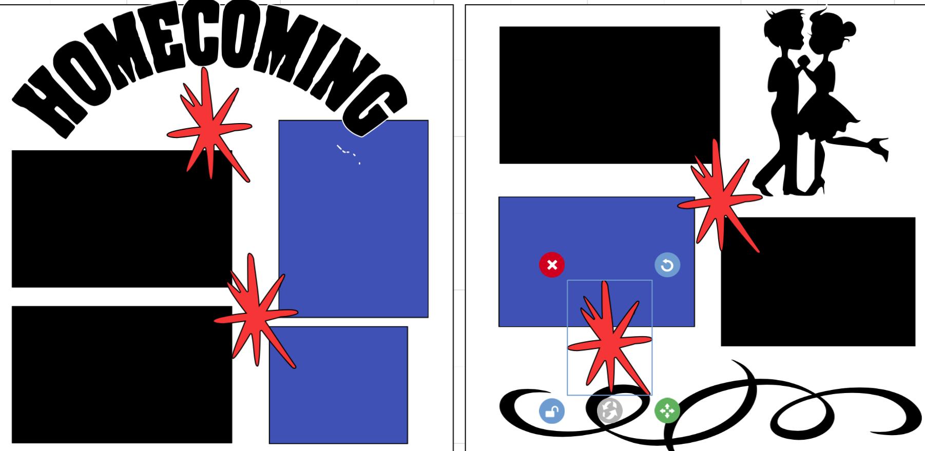 Homecoming ***-  page kit