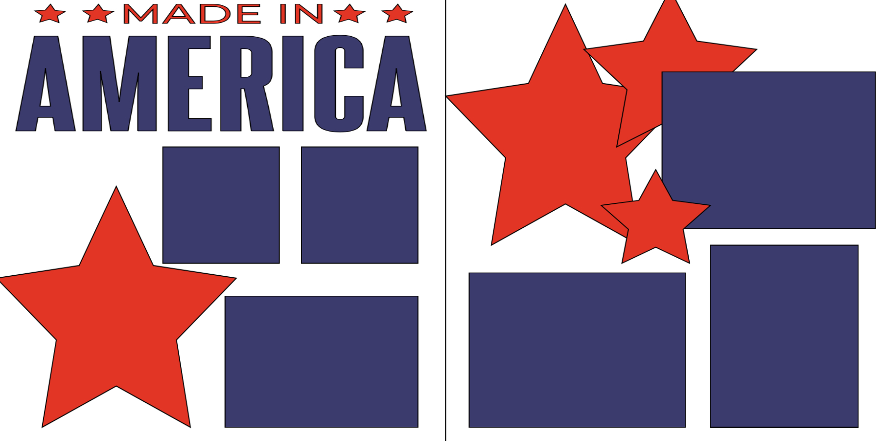 Made in America -  page kit