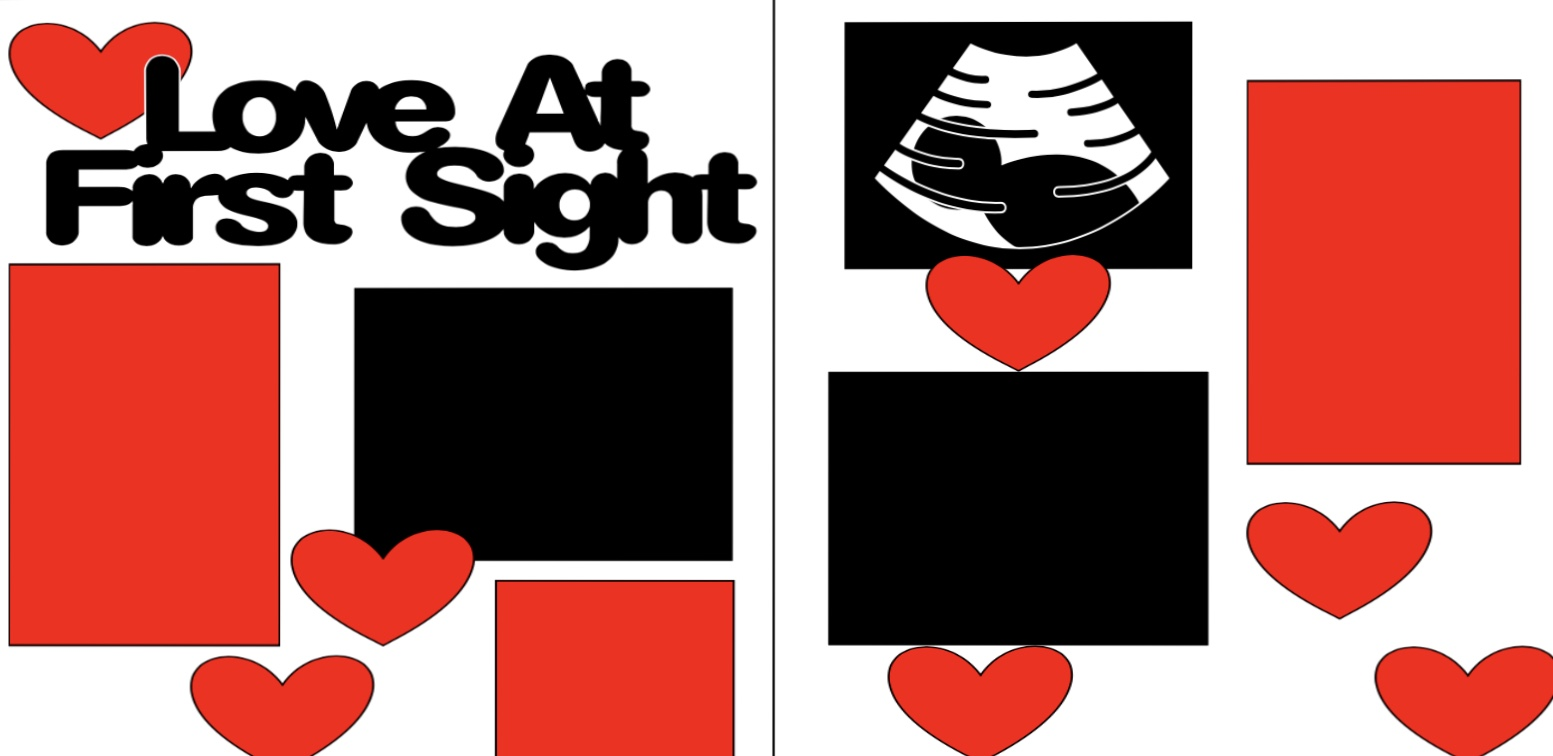 SONOGRAM LOVE AT FIRST SIGHT --   Page Kit