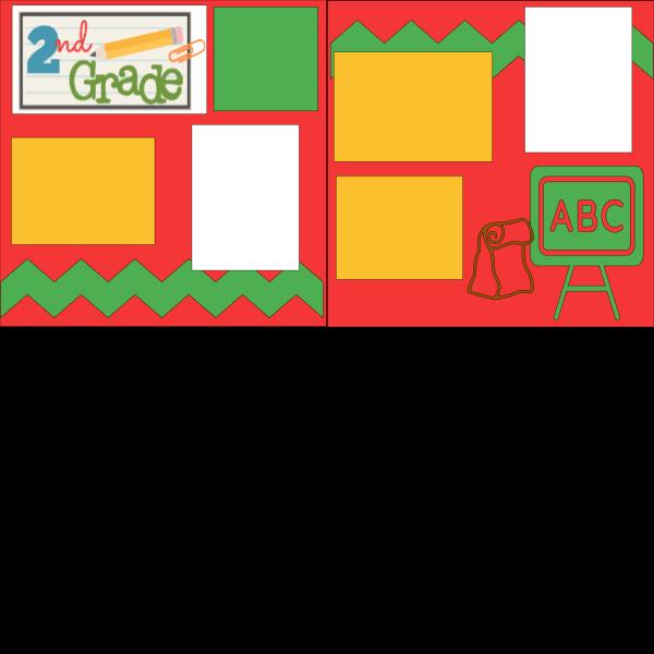 2ND GRADE (ABC)   --   page kit