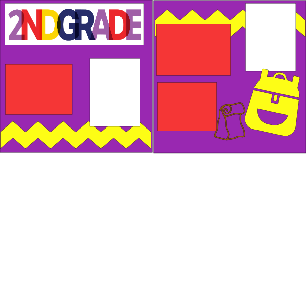 2ND GRADE (SCHOOL B)   --   page kit