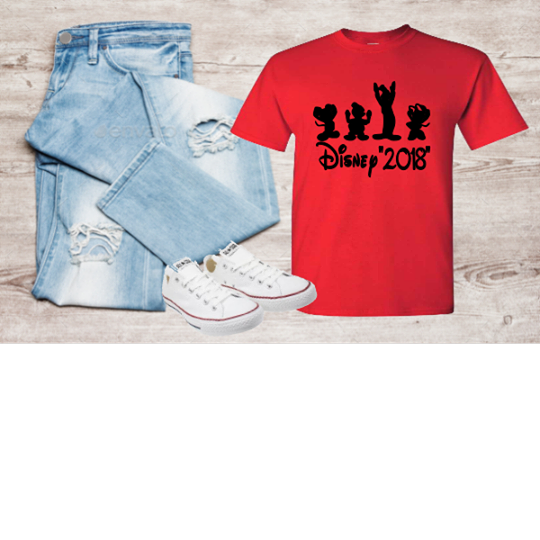 DISNEY SQUAD T-SHIRT