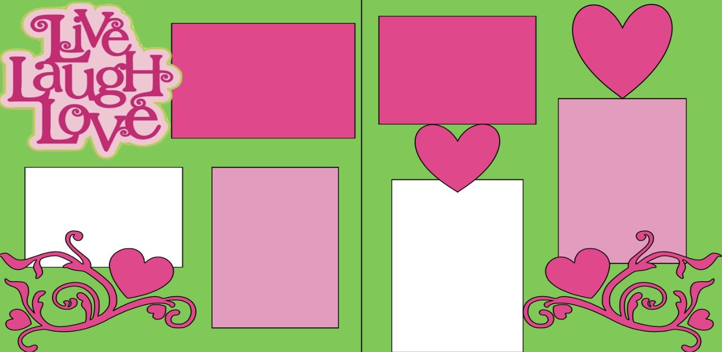 Live*laugh Love-  page kit