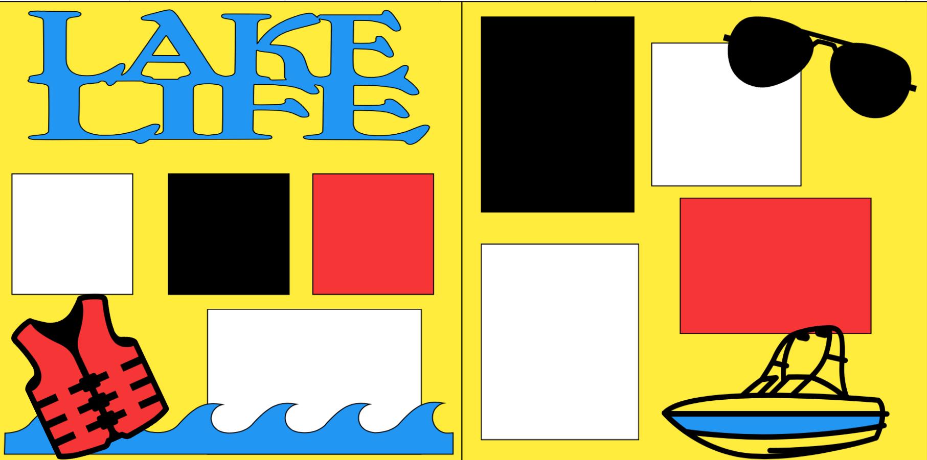 LAKE LIFE -  page kit
