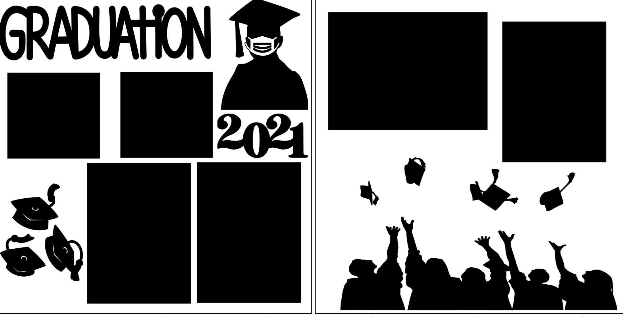 Graduation 2021 #-  page kit