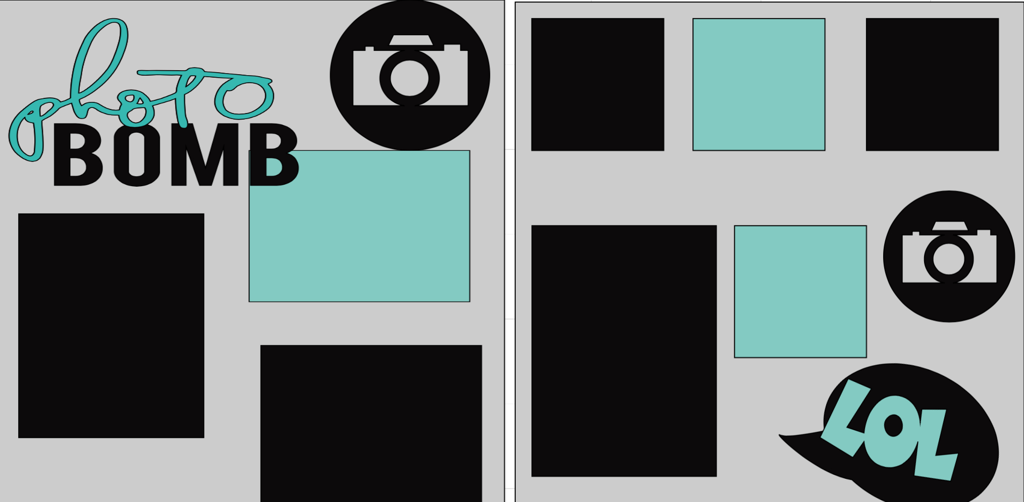 Photo. Bomb-  page kit