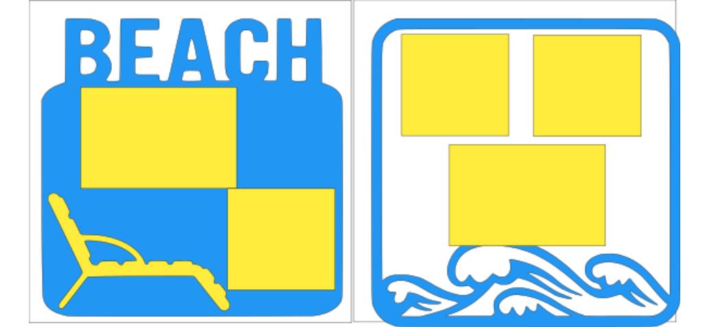 Beach-  page kit