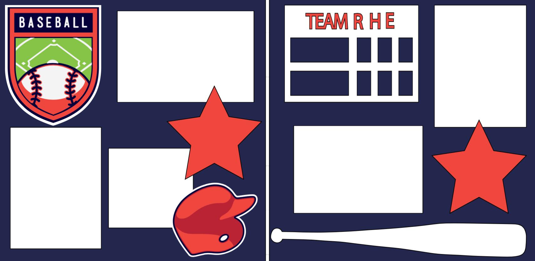 Baseball ! * -  page kit
