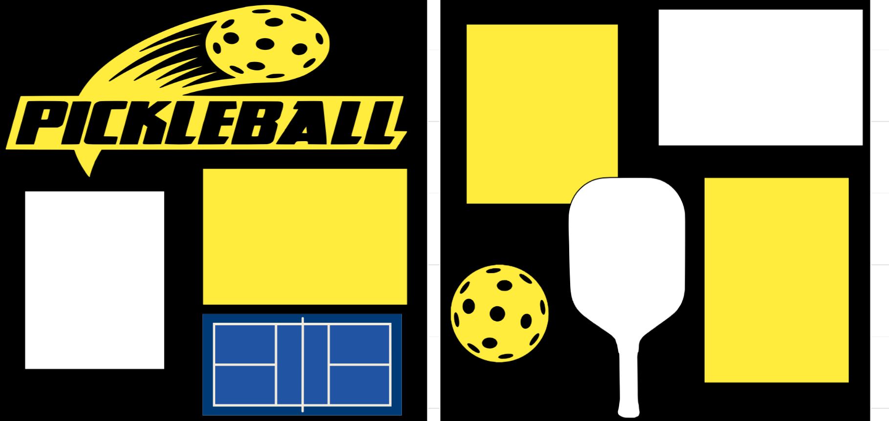 Pickleball Page  kit