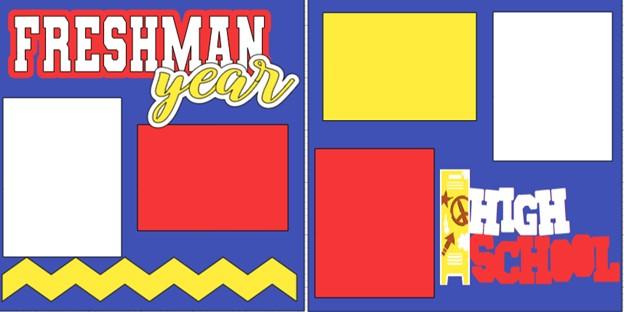 FRESHMAN YEAR   -  page kit