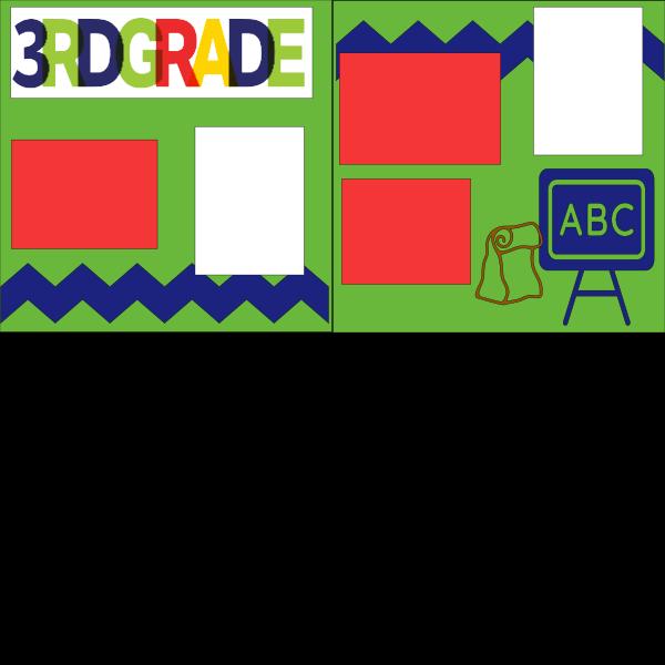 3RD GRADE (SCHOOL B)   --   page kit