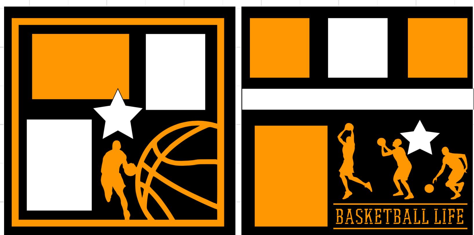 Basketball Life-  page kit