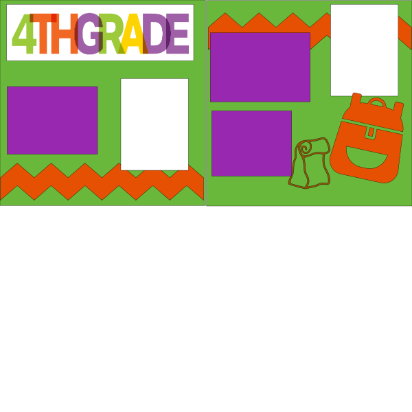 4TH GRADE (SCHOOL B)   --   page kit