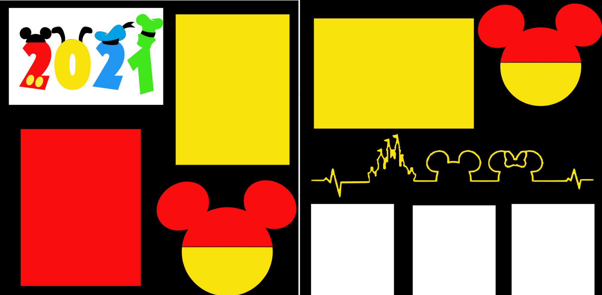 Disney 2021 ** -  page kit