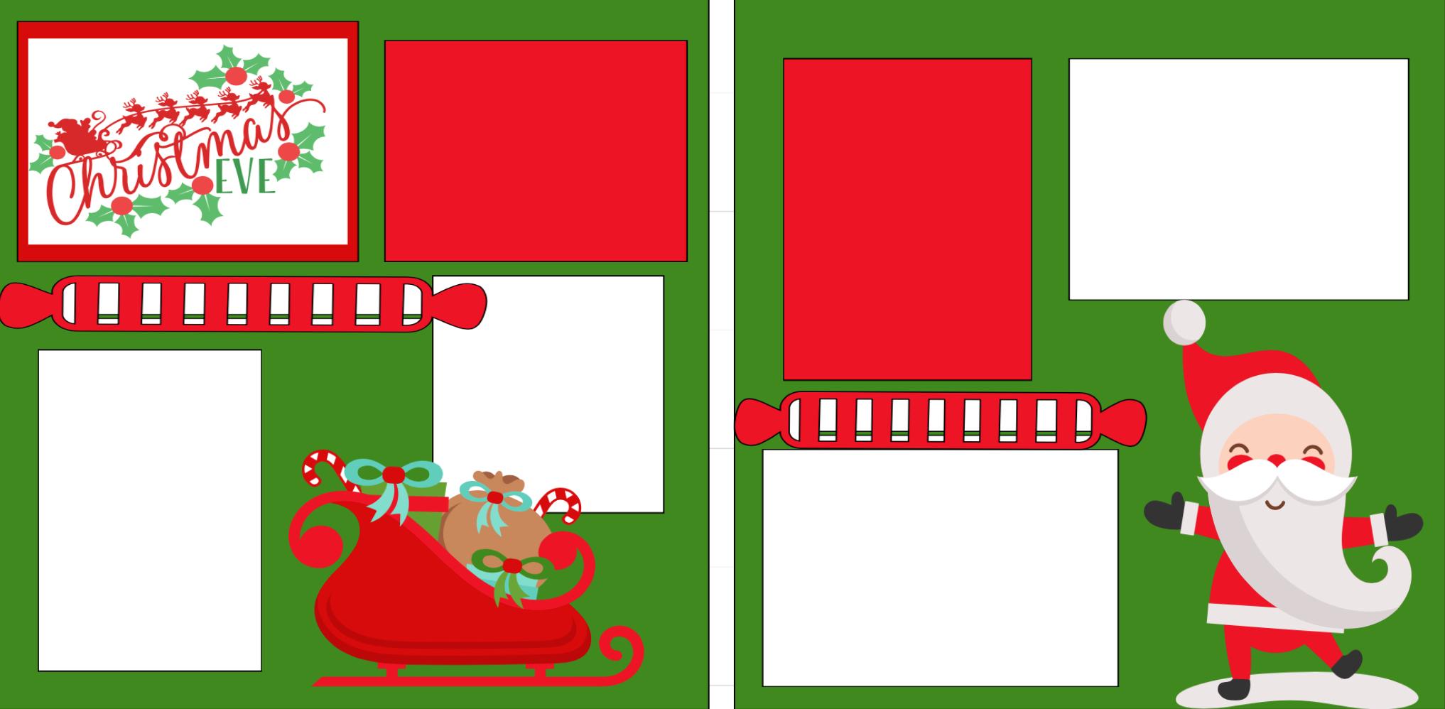 Christmas Eve-  page kit