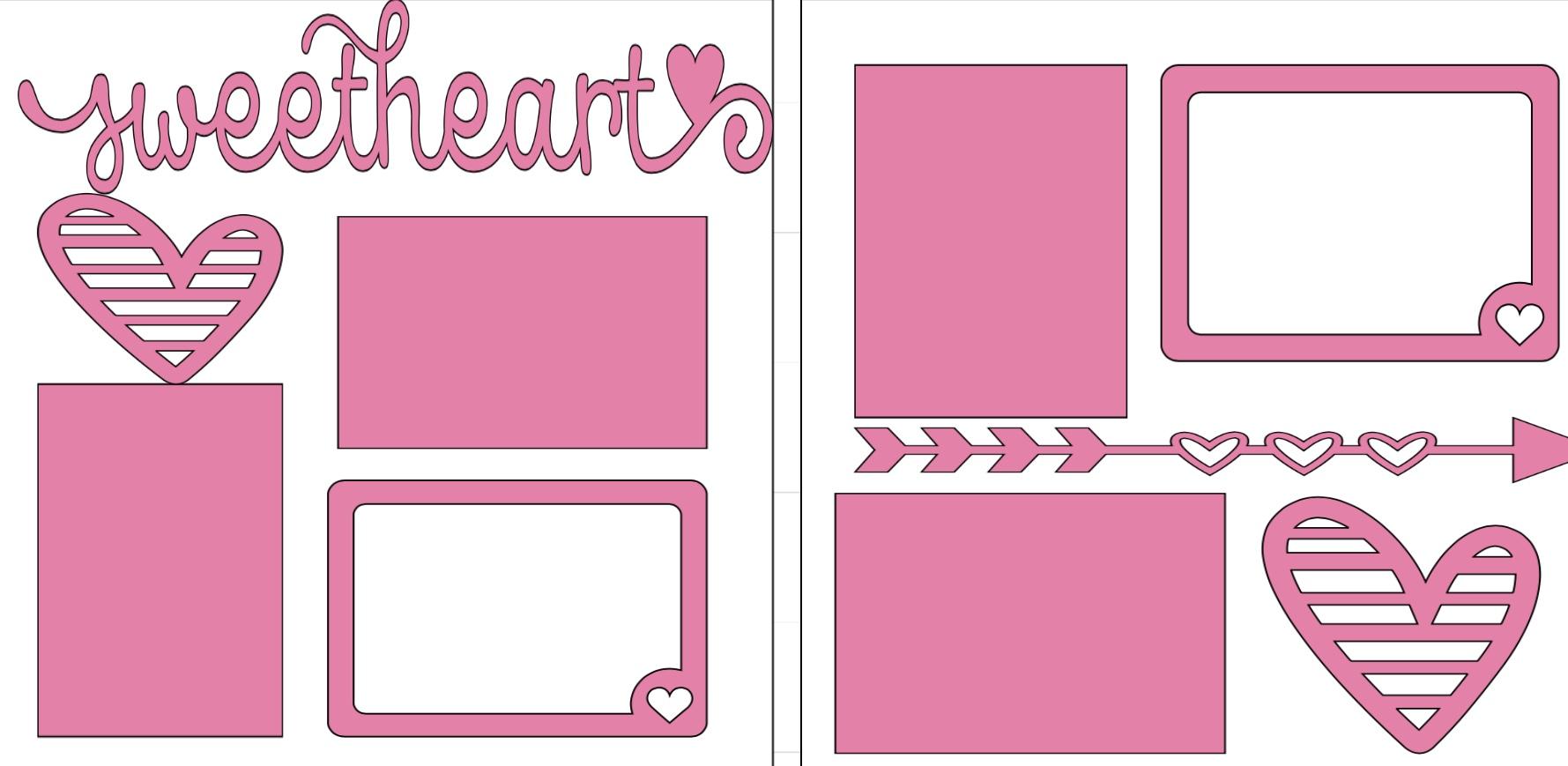 Sweetheart-  page kit