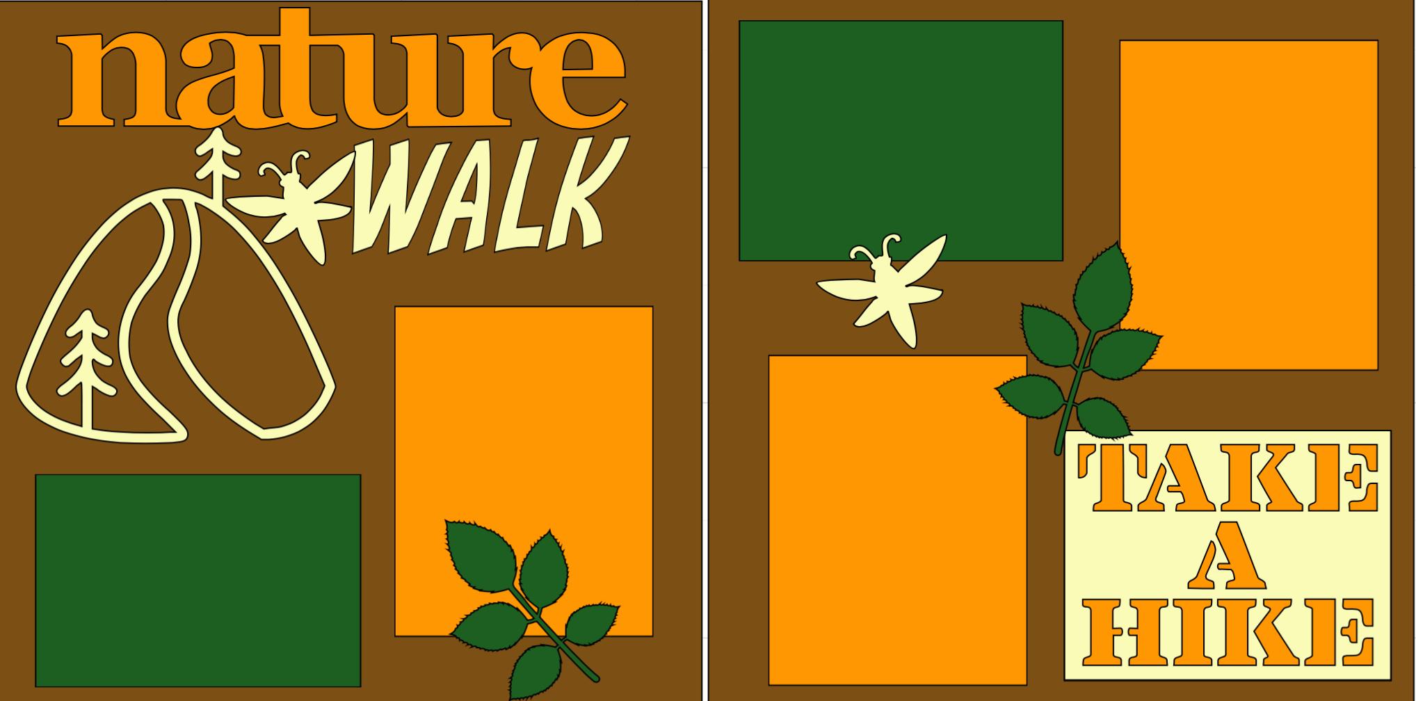 Nature Walk -page kit