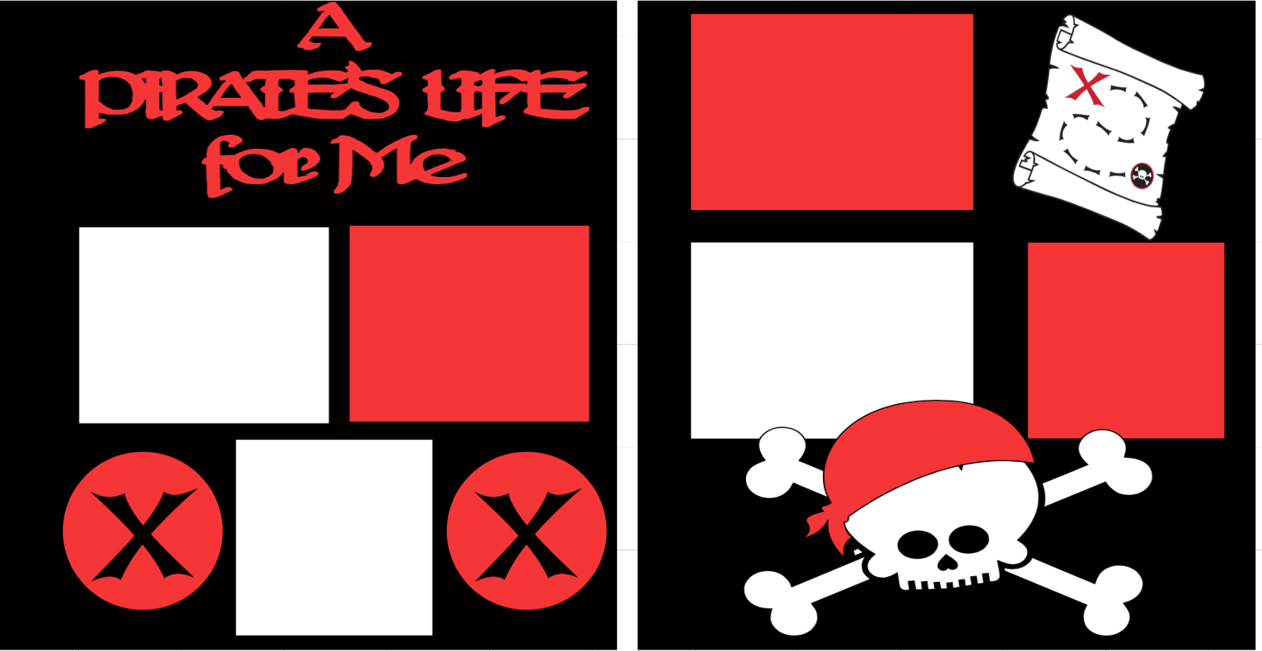 A Pirates Life -  page kit