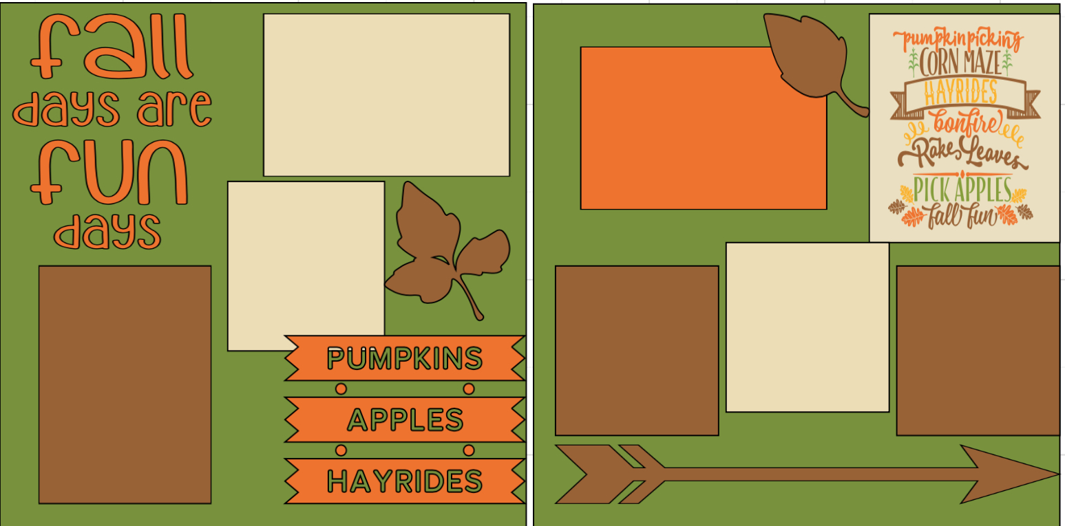 Fall Days are Fun Days  page kit