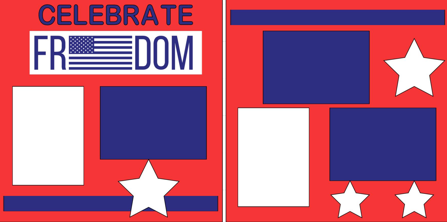 Celebrate Freedom-  page kit