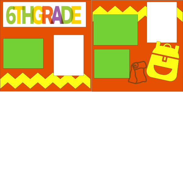 6TH GRADE (SCHOOL B)   --   page kit
