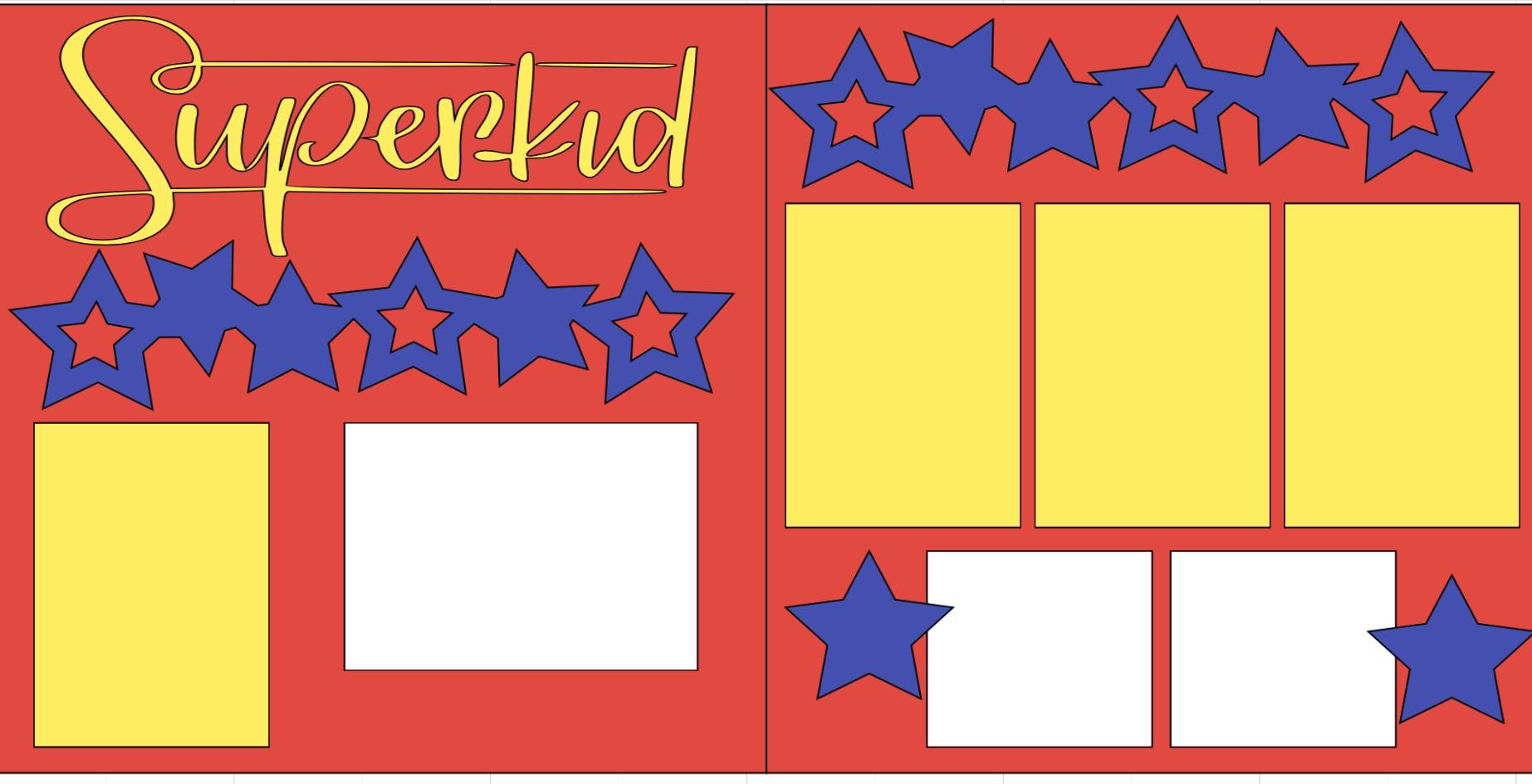 Superkid-  page kit