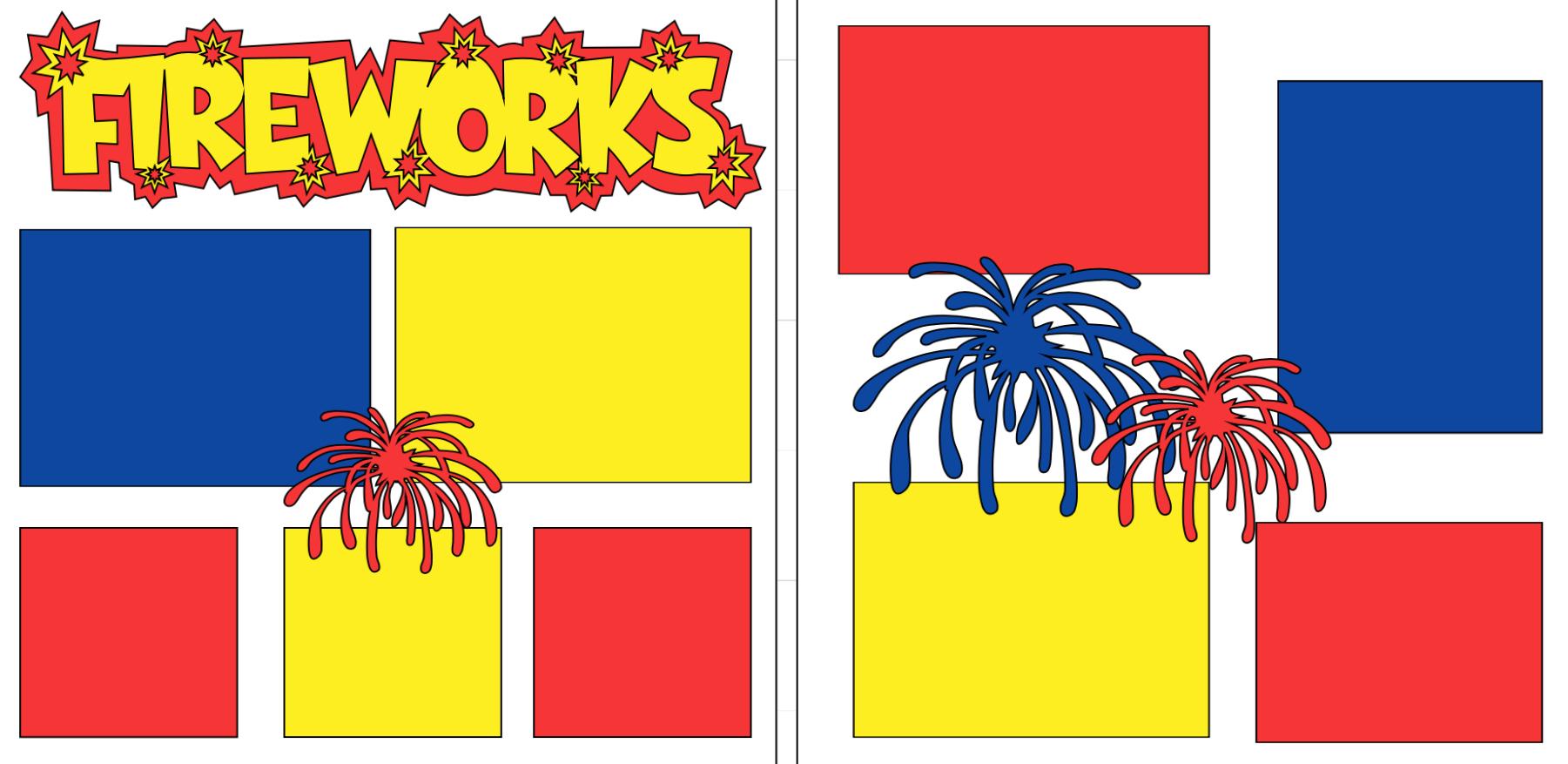 Fireworks-  page kit